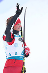 Pyeongchang, Korea, 16/3/2018-Brittany Hudak competes in the biathlon and wins bronze during the 2018 Paralympic Games in PyeongChang.  Photo Scott Grant/Canadian Paralympic Committee.
