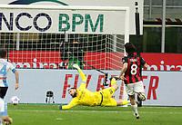 Milano 14-03-2021<br /> Stadio Giuseppe Meazza<br /> Serie A  Tim 2020/21<br /> Milan - Napoli<br /> Nella foto: Politano goal                                     <br /> Antonio Saia