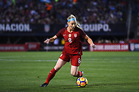 San Diego, CA - Sunday January 21, 2018: Julie Ertz during an international friendly between the women's national teams of the United States (USA) and Denmark (DEN) at SDCCU Stadium.