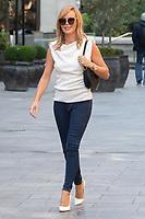 LONDON, ENGLAND - SEPTEMBER 9: Amanda Holden seen leaving Global Studios on September 9, 2020 in London, England.<br /> CAP/JOR<br /> ©JOR/Capital Pictures