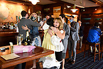 Michael and Eliana's Engagement Photography <br /> American Yacht Club<br /> Clubhouse Family and Friends<br /> Westchester, New York