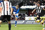 St Mirren v St Johnstone…29.08.21  SMiSA Stadium    SPFL<br />David Wotherspoon shoots staright at the keeper Jak Alnwick<br />Picture by Graeme Hart.<br />Copyright Perthshire Picture Agency<br />Tel: 01738 623350  Mobile: 07990 594431