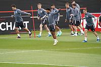 Mats Hummels (Deutschland Germany), Serge Gnabry (Deutschland Germany) - Seefeld 29.05.2021: Trainingslager der Deutschen Nationalmannschaft zur EM-Vorbereitung