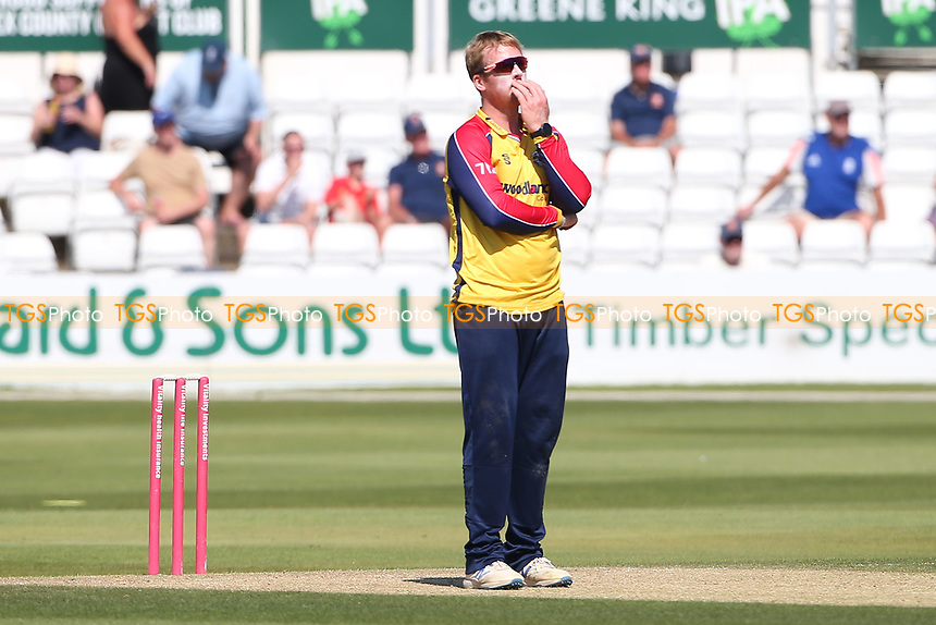 Frustration for Simon Harmer of Essex during Essex Eagles vs Middlesex, Vitality Blast T20 Cricket at The Cloudfm County Ground on 18th July 2021