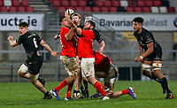 12 December 2020; Liam O'Connor during the A series inter-pros series 20-21 between Ulster A and Munster A at Kingspan Stadium, Ravenhill Park, Belfast, Northern Ireland. Photo by John Dickson/Dicksondigital