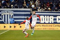 Kansas City, KS - March 31, 2018: Sporting Kansas City defeated D.C. United 1-0 at Children's Mercy Park.