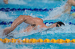 Wales Calum Jarvis in action during the mens 200m freestyle final <br /> <br /> *This image must be credited to Ian Cook Sportingwales and can only be used in conjunction with this event only*<br /> <br /> 21st Commonwealth Games - Swimming -  Day 2 - 06\04\2018 - Gold Coast Optus Aquatic centre - Gold Coast City - Australia