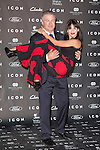 "Alec Baldwin and his wife Hilaria Thomas  attends the ""ICON Magazine AWARDS"" Photocall at Italian Consulate in Madrid, Spain. October 1, 2014. (ALTERPHOTOS/Carlos Dafonte)"