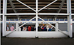 Hartlepool United 0 Sunderland 3, 20/07/2016. Victoria Park, Pre Season Friendly. Fans at the food bars before the game. Photo by Paul Thompson.