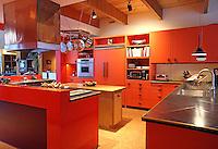 Kitchen area at 615 Kelly Avenue, Charlottesville, VA, United States. (Photo/Andrew Shurtleff)