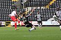 James Dunne of Stevenage scores the winner<br />  - Notts County v Stevenage - Sky Bet League One - Meadow Lane, Nottingham - 24th August 2013<br /> © Kevin Coleman 2013