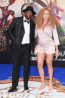 "Tiggs de Author and Imani<br /> at the premiere of ""Alice Through the Looking Glass"" held at the Odeon Leicester Square, London<br /> <br /> <br /> ©Ash Knotek  D3117  10/05/2016"