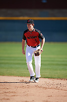 Adie Goodman (5) of Lamar School in Meridian, Mississippi during the Baseball Factory All-America Pre-Season Tournament, powered by Under Armour, on January 13, 2018 at Sloan Park Complex in Mesa, Arizona.  (Mike Janes/Four Seam Images)