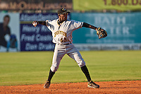 Adenson Chourio of the Bradenton Marauders during the game at Jackie Robinson Ballpark in Daytona Beach, Florida on August 2, 2010. Photo By Scott Jontes/Four Seam Images