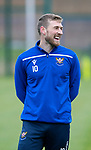 St Johnstone Training…25.10.19<br />David Wotherspoon pictured during training this morning at McDiarmid Park ahead of tomorrows game against Hamilton Accies.<br />Picture by Graeme Hart.<br />Copyright Perthshire Picture Agency<br />Tel: 01738 623350  Mobile: 07990 594431