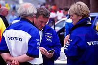 1996 British Touring Car Championship. Tom Walkinshaw and Ann Bradshaw