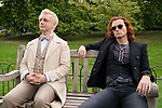 Michael Sheen & David Tennant<br /> Good Omens (2019) <br /> *Filmstill - Editorial Use Only*<br /> CAP/RFS<br /> Image supplied by Capital Pictures