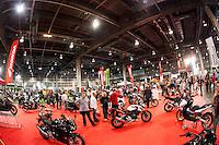 VALENCIA, SPAIN - NOVEMBER 7: Honda stand during DOS RODES at Feria Valencia on November 7, 2015 in Valencia, Spain
