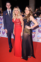 Carol Vorderman with, son, Cameron and daughter, Katie<br /> at the Pride of Britain Awards 2017 held at the Grosvenor House Hotel, London<br /> <br /> <br /> ©Ash Knotek  D3342  30/10/2017