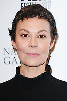 "Helen McCrory<br /> arriving for the London Film Festival 2017 screening of ""Loving Vincent"" at the National Gallery, Trafalgar Square, London<br /> <br /> <br /> ©Ash Knotek  D3328  09/10/2017"