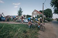 race leaders cutting corners<br /> <br /> 92nd Schaal Sels 2017 <br /> 1 Day Race: Merksem > Merksem (188km)