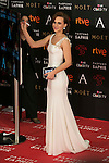 Aura Garrido attends attends 30th Goya Awards red carpet in Madrid, Spain. February 06, 2016. (ALTERPHOTOS/Victor Blanco)