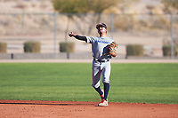 Garcia Marquez (44), from Modesto, California, while playing for the Tigers during the Under Armour Baseball Factory Recruiting Classic at Red Mountain Baseball Complex on December 29, 2017 in Mesa, Arizona. (Zachary Lucy/Four Seam Images)