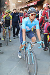 Carlos Betancur (COL) Movistar Team after finishing in Siena Strade Bianche 2019 running 184km from Siena to Siena, held over the white gravel roads of Tuscany, Italy. 9th March 2019.<br /> Picture: Seamus Yore   Cyclefile<br /> <br /> <br /> All photos usage must carry mandatory copyright credit (© Cyclefile   Seamus Yore)