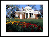 Monticello, the home of Thomas Jefferson. Credit Image: © Andrew Shurtleff