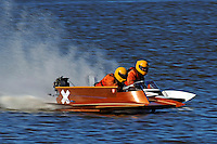 Boat X and 1-S   (outboard hydroplane)