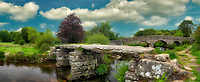 Postbridge. Dartmoor National Park, England