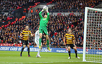 Pictured: Matt Duke. Sunday 24 February 2013<br /> Re: Capital One Cup football final, Swansea v Bradford at the Wembley Stadium in London.