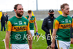 Mikey Boyle and his brother Padraig Boyle, Kerry in the Allianz National Hurling League Division 2A Round 4 at Austin Stack Park, Tralee on Saturday.