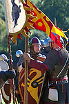 Great Britain, England, East Sussex, Battle: Re-enactment of the 1066 Battle of Hastings | Grossbritannien, England, East Sussex, Battle: historische Nachstellung der Schlacht von Hastings 1066