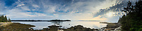 The View from Nautilus Island, Castine, Maine, US