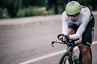 Ryan Gibbons (ZAF/Dimension Data)<br /> <br /> stage 16: Trento – Rovereto iTT (34.2 km)<br /> 101th Giro d'Italia 2018