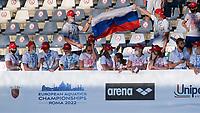Russia supporter<br /> <br /> swimming, nuoto<br /> LEN European Junior Swimming Championships 2021<br /> Rome 2176<br /> Stadio Del Nuoto Foro Italico <br /> Photo Giorgio Scala / Deepbluemedia / Insidefoto
