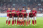 Guangzhou Evergrande squad pose for team photo during the AFC Champions League 2017 Group G match between Guangzhou Evergrande FC (CHN) vs Suwon Samsung Bluewings (KOR) at the Tianhe Stadium on 09 May 2017 in Guangzhou, China. Photo by Yu Chun Christopher Wong / Power Sport Images