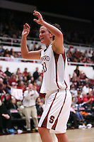 31 January 2008: Stanford Cardinal Jillian Harmon during Stanford's 77-51 win against the USC Trojans at Maples Pavilion in Stanford, CA.