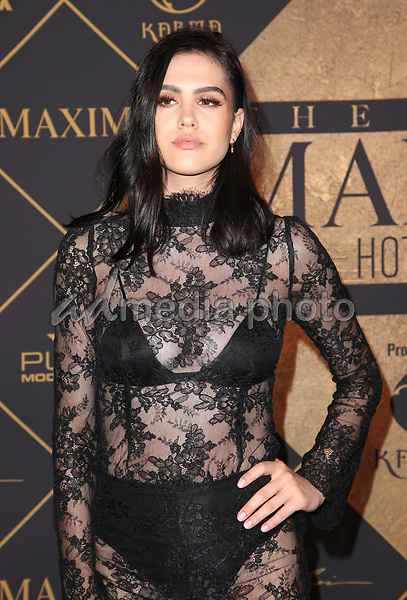 25 June 2017 - Hollywood, California - Amelia Hamlin. 2017 MAXIM Hot 100 Party held at the Hollywood Palladium. Photo Credit: F. Sadou/AdMedia