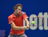 Rotterdam, Netherlands, December 17, 2015,  Topsport Centrum, Lotto NK Tennis, Jasper Smit (NED)<br /> Photo: Tennisimages/Henk Koster
