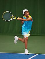20131201,Netherlands, Almere,  National Tennis Center, Tennis, Winter Youth Circuit, Charlize  Bernardus   <br /> Photo: Henk Koster