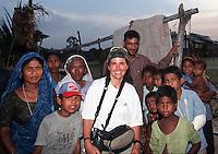 Christiane Kappes near india border