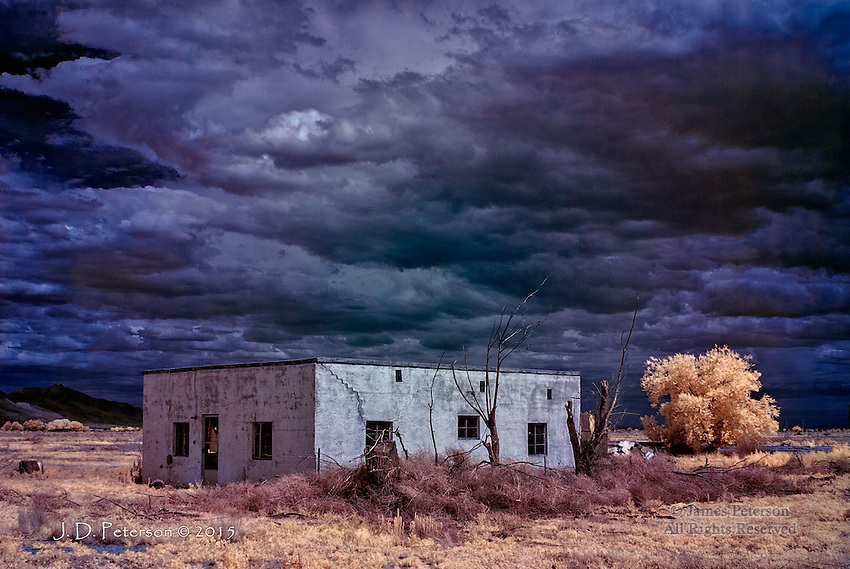 Paradise Misplaced #2: Sulphur Springs Valley, Arizona (Infrared)