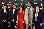 Cast of Mar de Plastico attends to the Feroz Awards 2017 in Madrid, Spain. January 23, 2017. (ALTERPHOTOS/BorjaB.Hojas)
