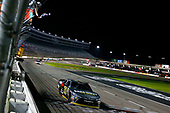 NASCAR XFINITY Series<br /> O'Reilly Auto Parts 300<br /> Texas Motor Speedway<br /> Fort Worth, TX USA<br /> Saturday 4 November 2017<br /> Erik Jones, GameStop Call of Duty WWII Toyota Camry drives under the checkered flag to win<br /> World Copyright: Russell LaBounty<br /> LAT Images