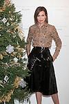 Model Nieves Alvarez poses during the Rochas perfume Christmas presentation in Madrid, Spain. December 03, 2014. (ALTERPHOTOS/Victor Blanco)