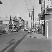 Y-670513-B01. May 13, 1967. West Burnside and SW 17th Ave.