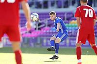 Orlando, Florida - Monday January 15, 2018: Chris Mueller. Match Day 2 of the 2018 adidas MLS Player Combine was held Orlando City Stadium.