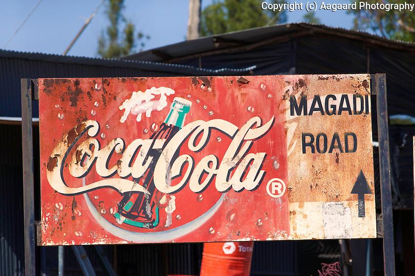 Street scene, Magadi Road, Kenya
